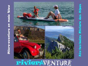 Micro-aventure en mode Slow. Aix-les-bains Riviera des Alpes. Savoie. France